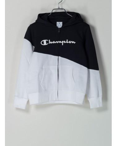 Felpa Champion Zip Cappuccio Color Block Bambina CHAMPION 61,32€