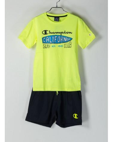 Completo Champion T-shirt+short (305278-yz006) CHAMPION 19,48€