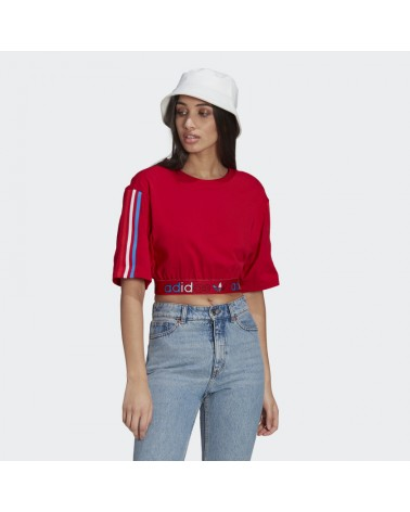 T-SHIRT ADIDAS PRIMEBLUE TRICOLOR CROPPED (GN2935) ADIDAS 35,00€