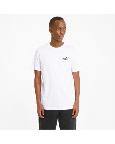 T-shirt Puma con piccolo logo Essentials uomo (586668) PUMA 20,00€
