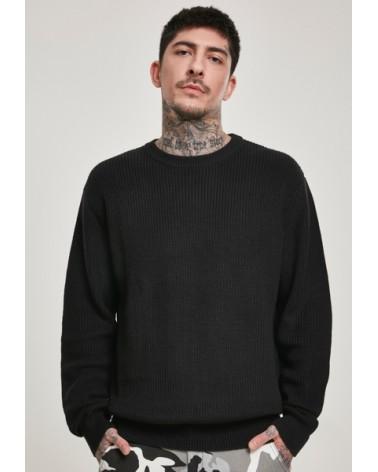 Cardigan Stitch Sweater Urban Classics Black URBAN CLASSICS 40,00€