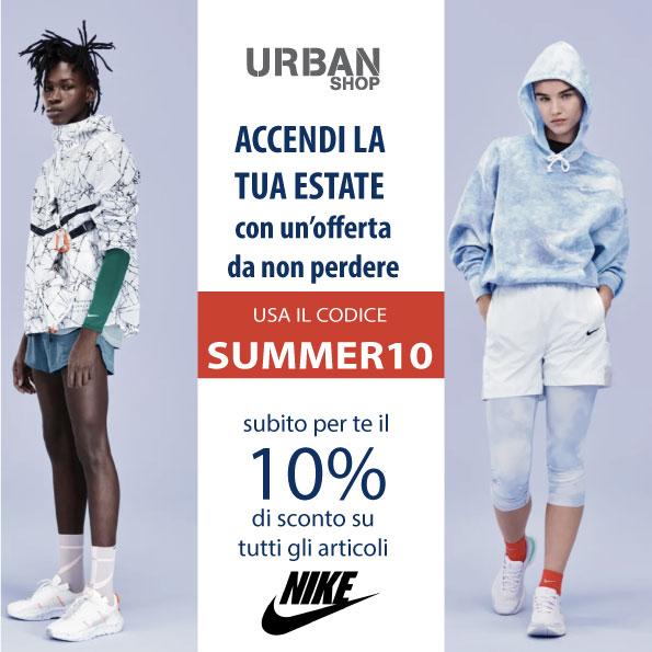 Nike scarpe e abbigliamento sconto 10%